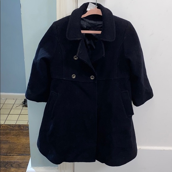 Girls Petit Bateau wool coat - size 4 ans / 102